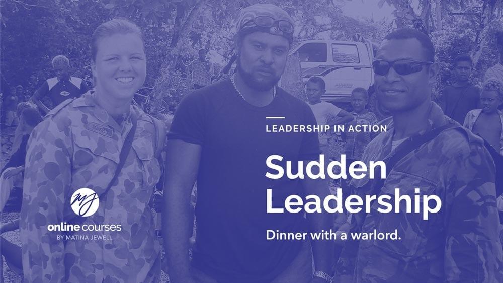 Sudden Leadership